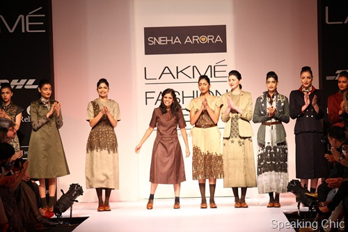 Sneha Arora at LFW WF 2013