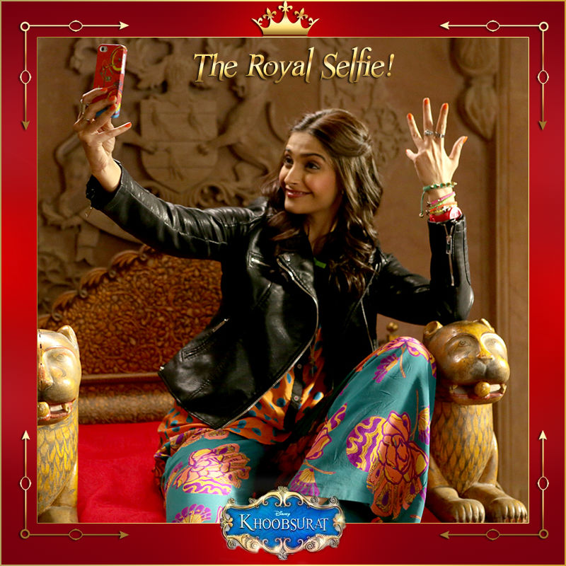 Khoobsurat selfie- Sonam Kapoor
