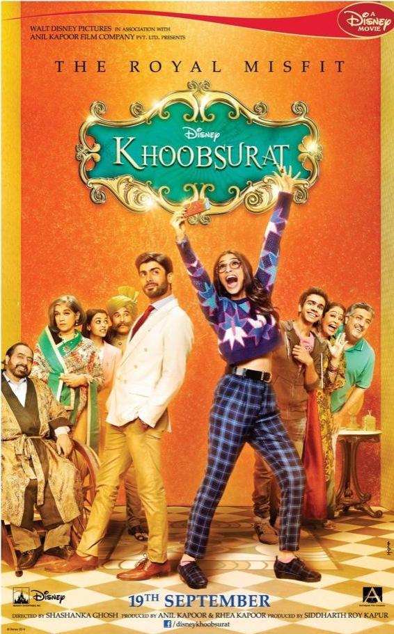 Sonam Kapoor Khoobsurat poster