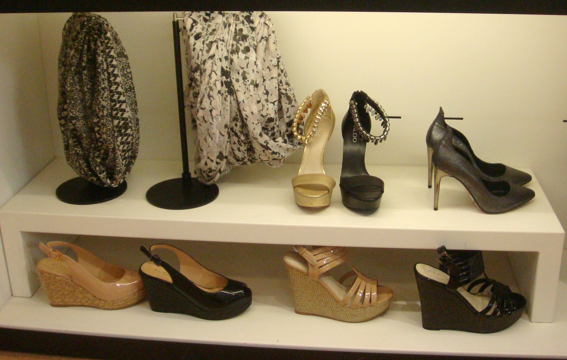 Aldo black shoes for women