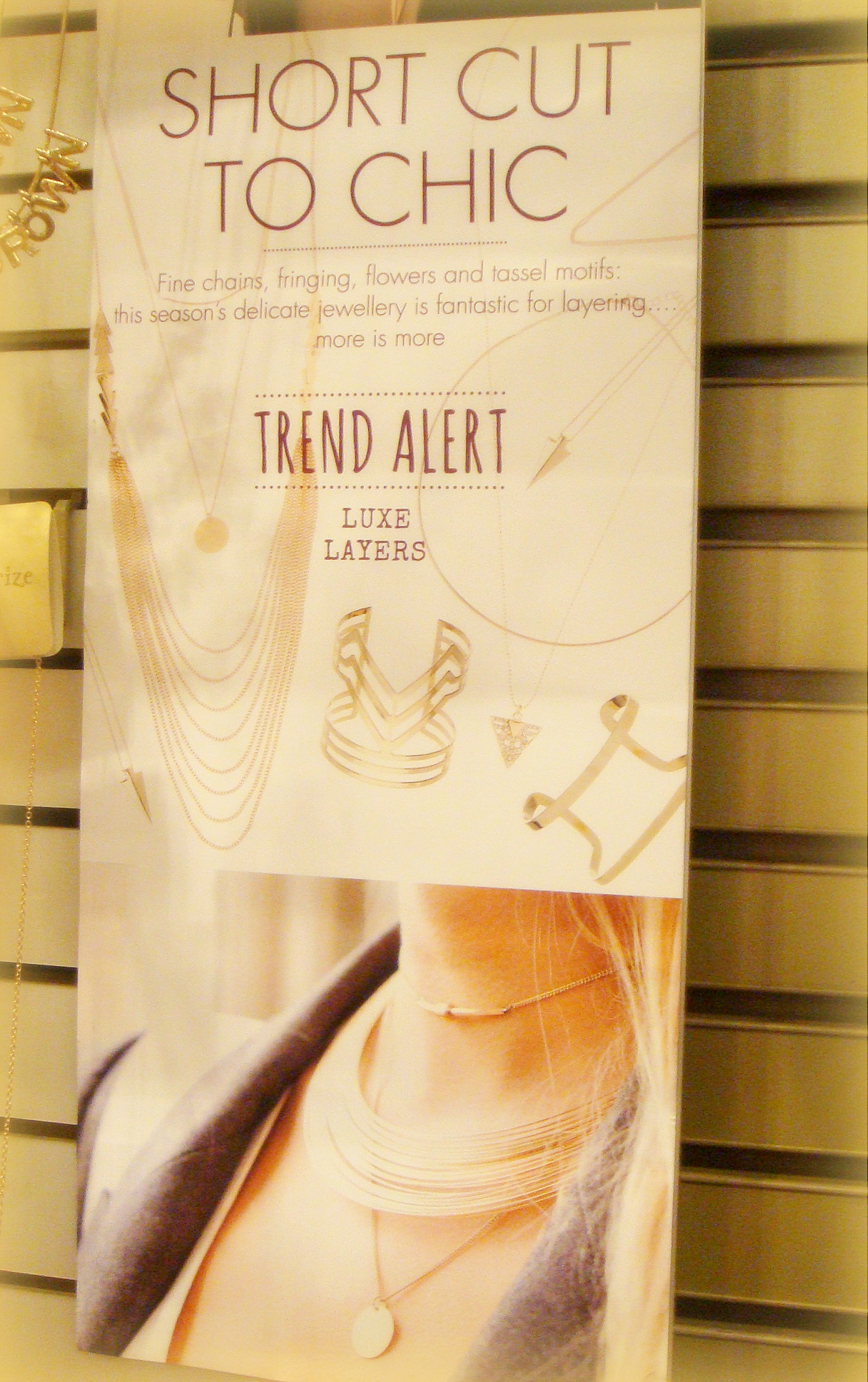 Accesorize jewellery tip