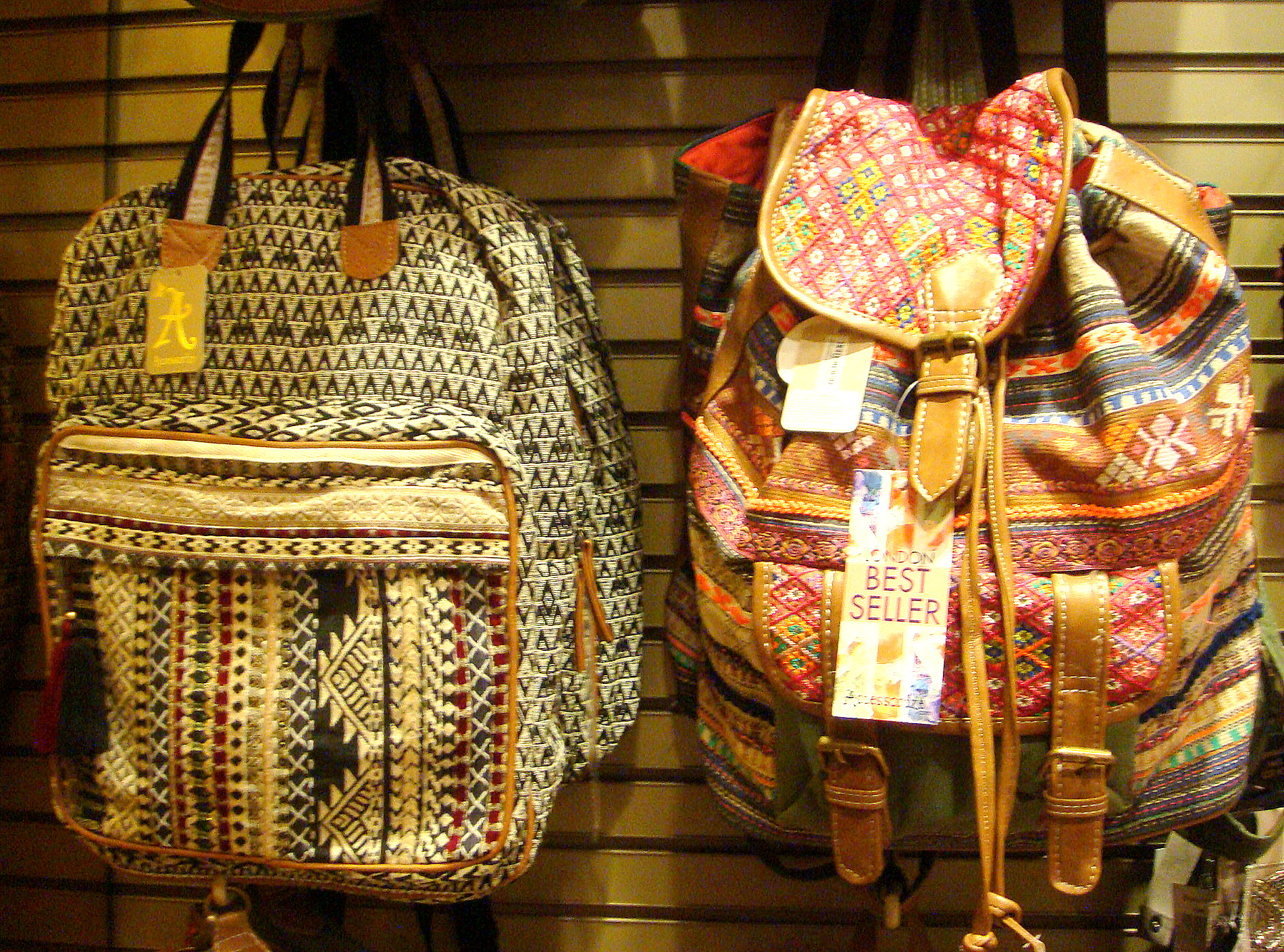 Accessorize backpacks- printed
