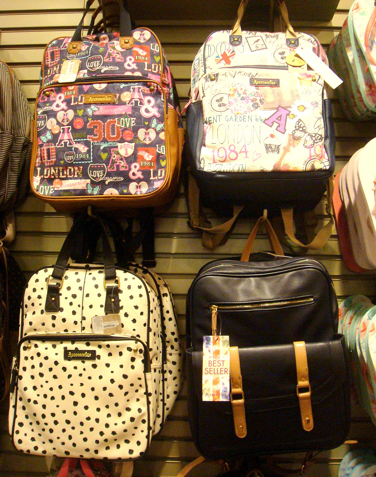 Accessorize backpacks