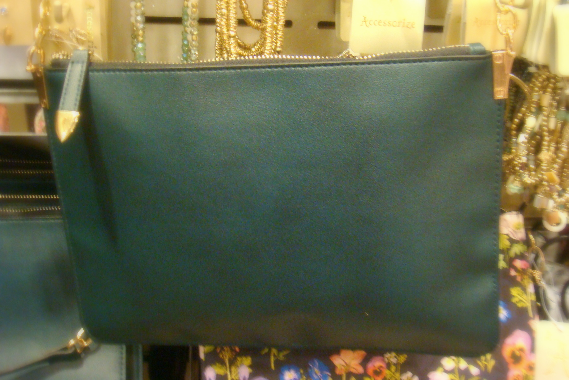Accessorize day bag- green