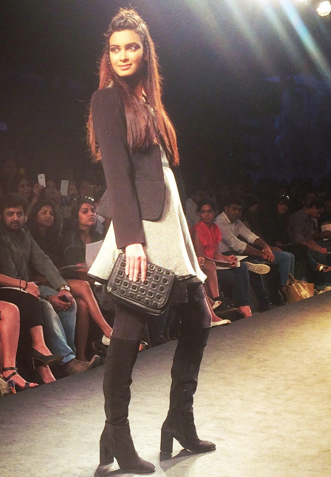 Diana Penty for ELLE French fashion #MFWKND