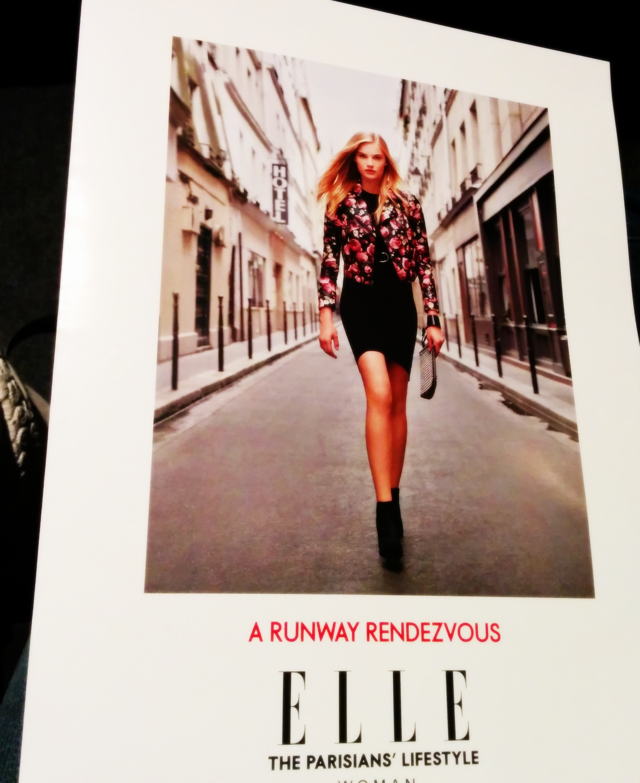 Elle French fashion wear AW 14 press kit