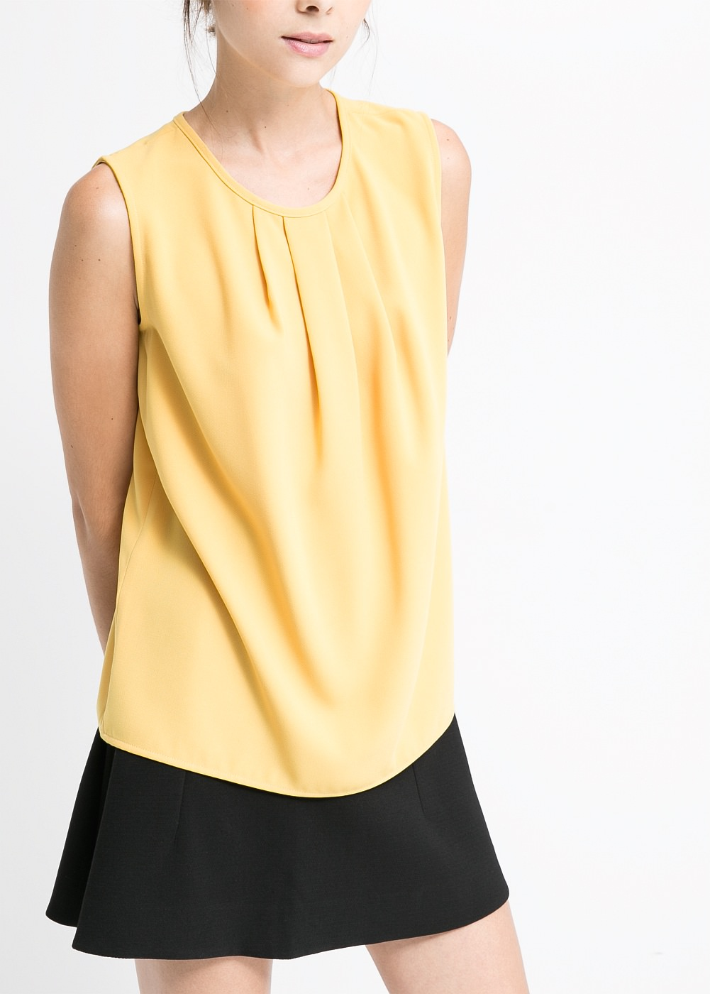 Mango yellow top- Happy New Year