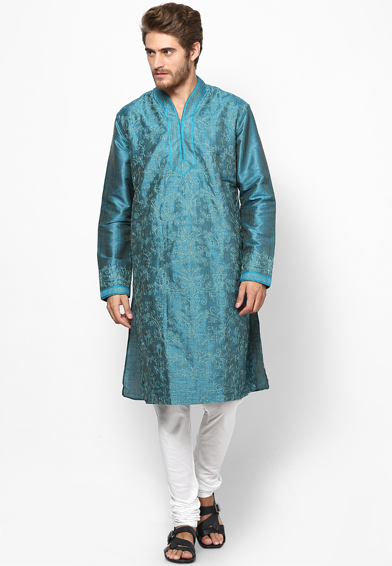 Striped-Aqua-Blue-Kurta from Jabong, Rs 3299