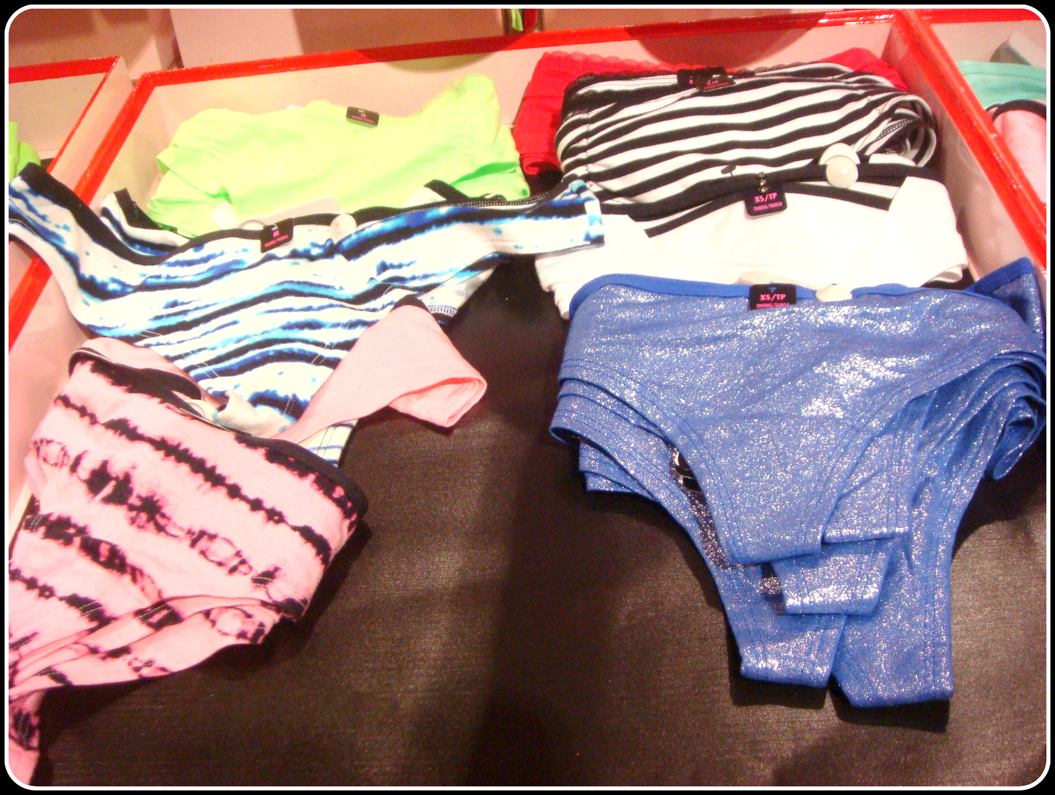 La Senza party underwear