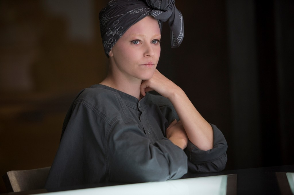Effie Elizabeth Banks Mockingjay Part 1