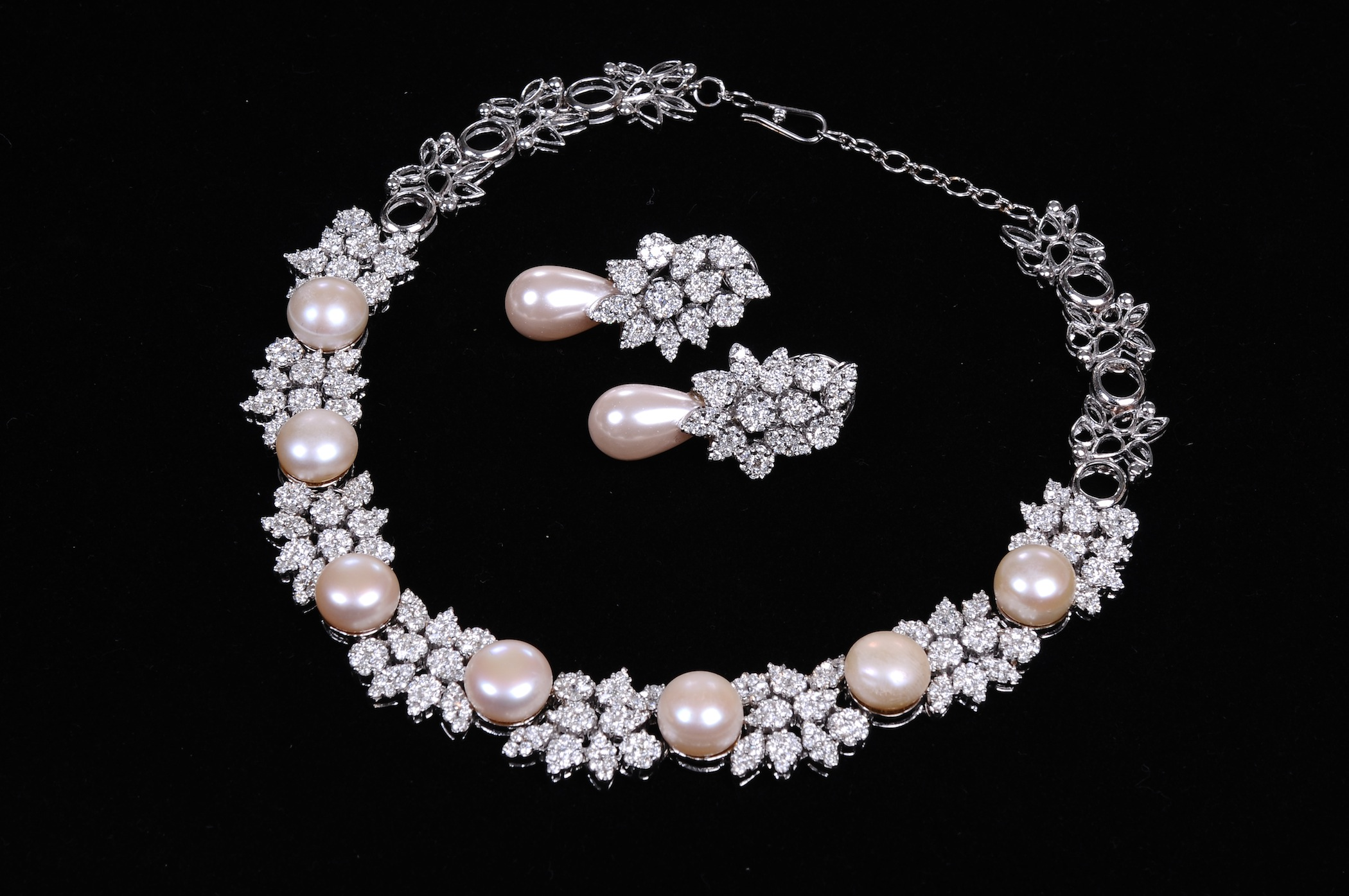 Jewellery for Diamond pearl jewelry sets