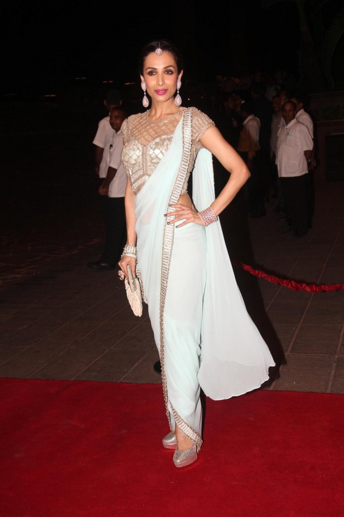 Malaika Arora Khan Arpita Khan's Wedding Reception