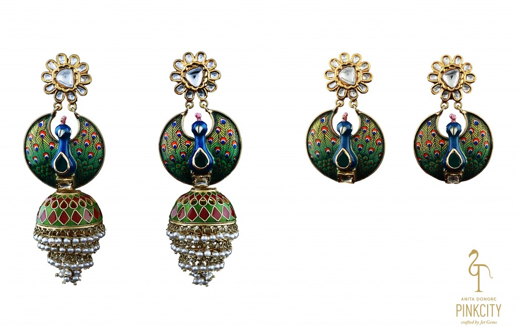 detachable jhumkis- 2,84,000