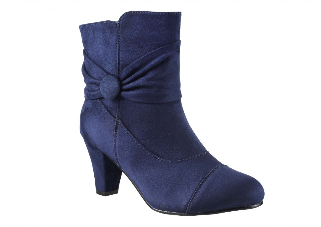 Blue boots- Metro Shoes