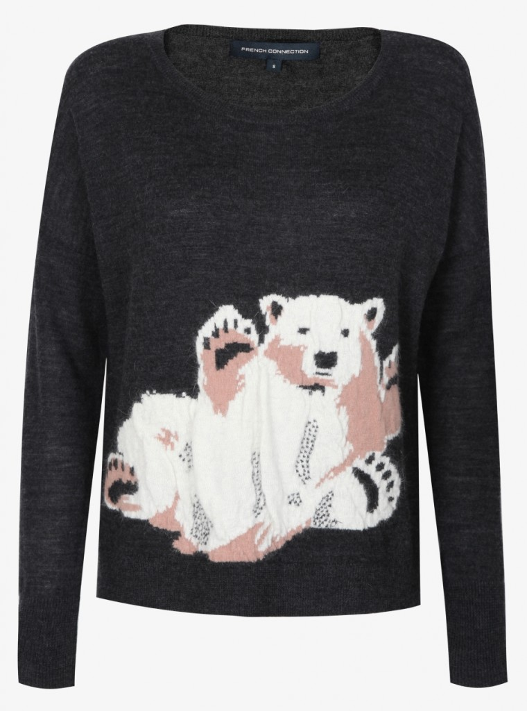 FCUK animal sweater