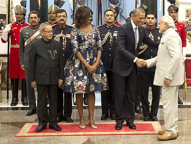 Obamas PM Modi banquet