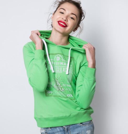 American Swan green hoodie