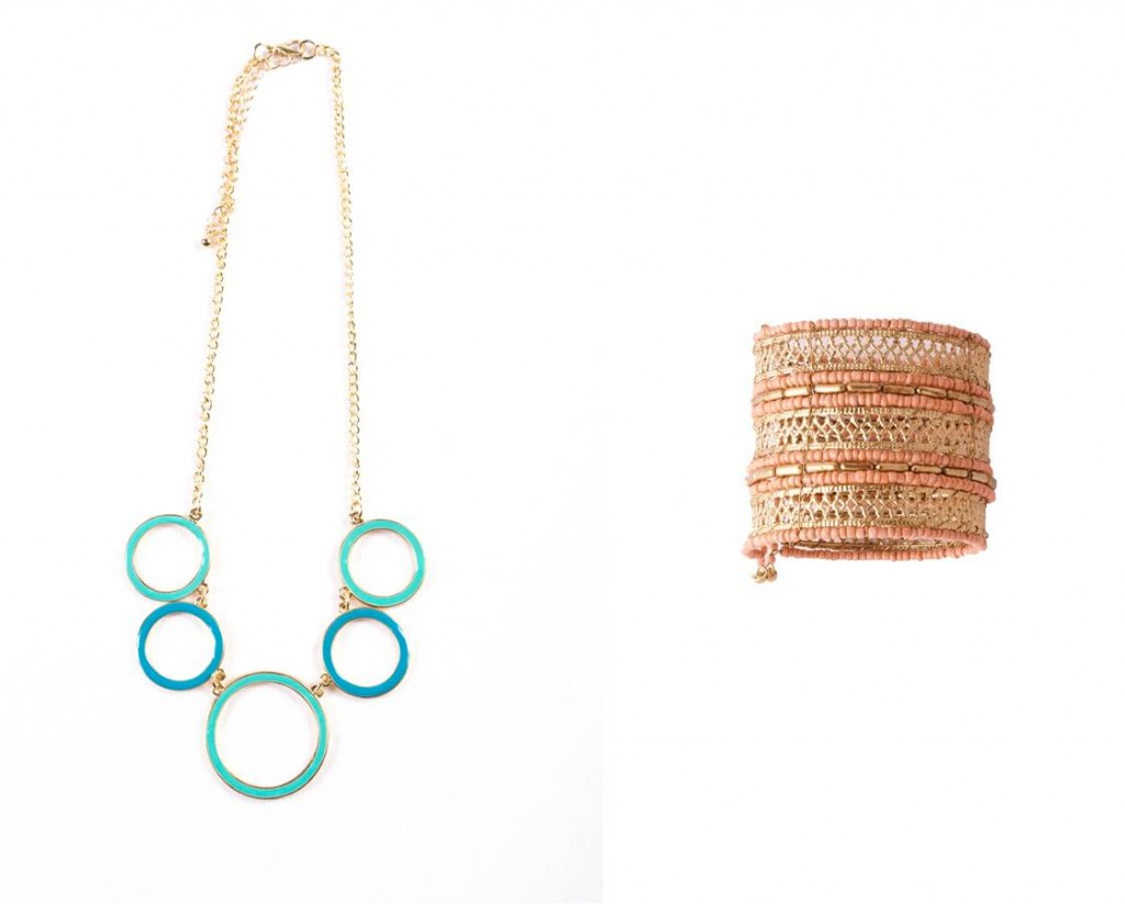 Ayesha accessories cuff & necklace