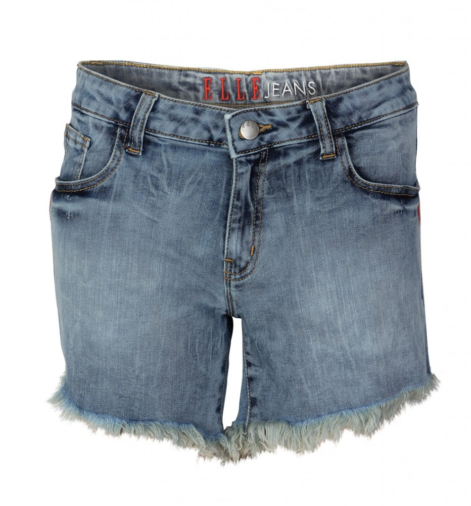 Elle denim shorts