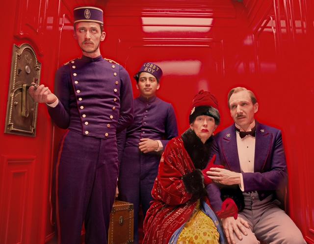 Grand Budapest Hotel costumes- TIlda Swinton fur coat