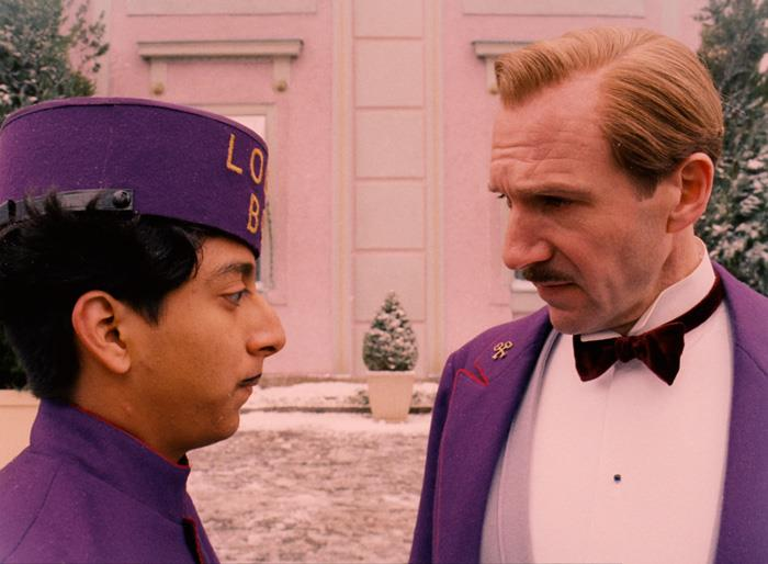 Grand Budapest Hotel costumes- purple