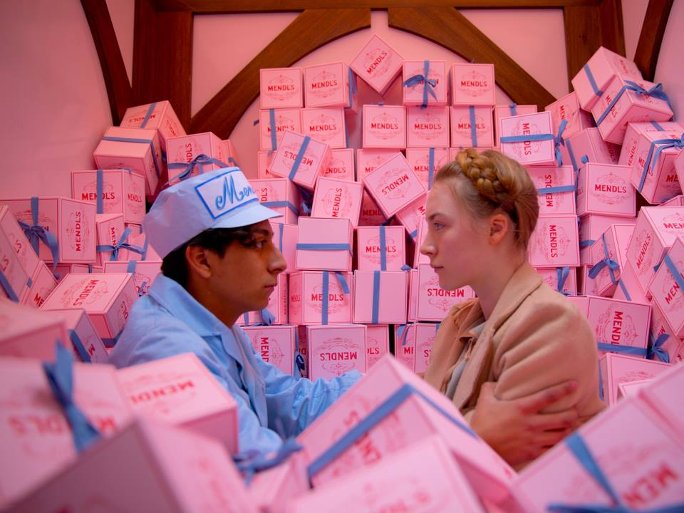 Grand Budapest Hotel costumes- pastel colours