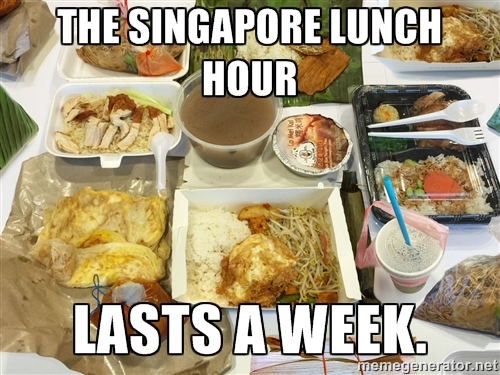 Takeaway Level Singapore meme
