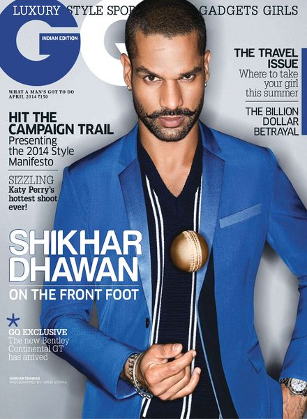 Shikhar Dhawan GQ India