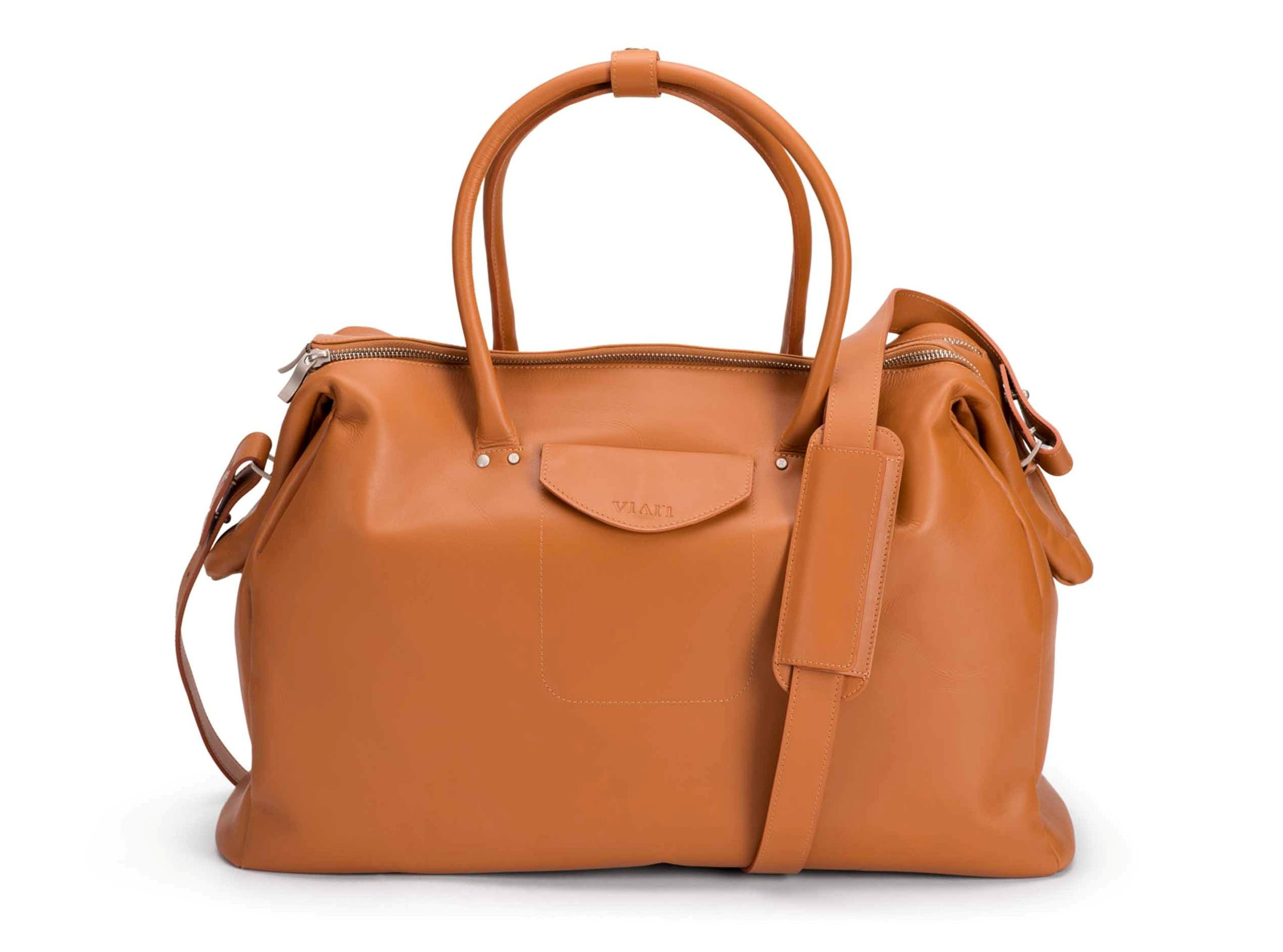 Chic Picks: Hot leather travel bags for a