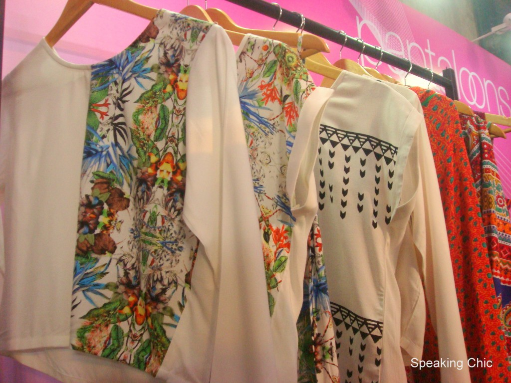 Printed tops with Liva