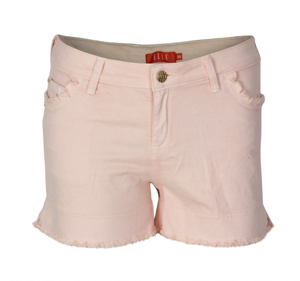 Elle pink shorts summer