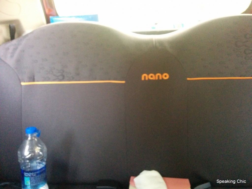 Tata Nano GenX Easy Shift AMT rear seat