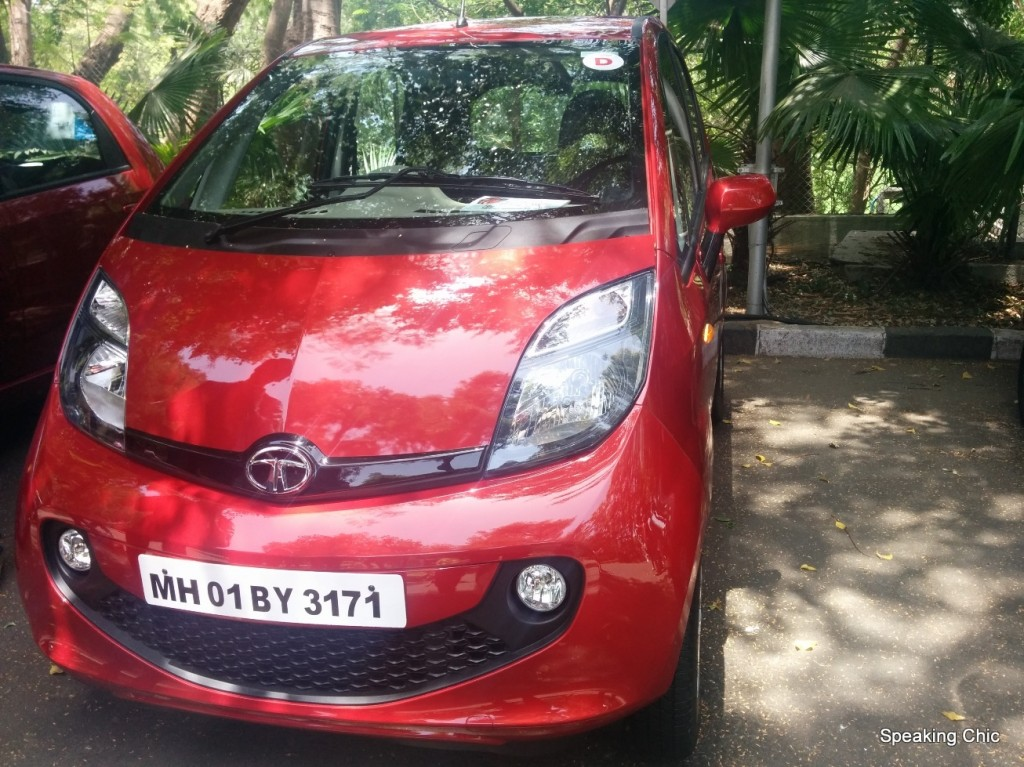 Tata Nano GenX Easy Shift AMT grille