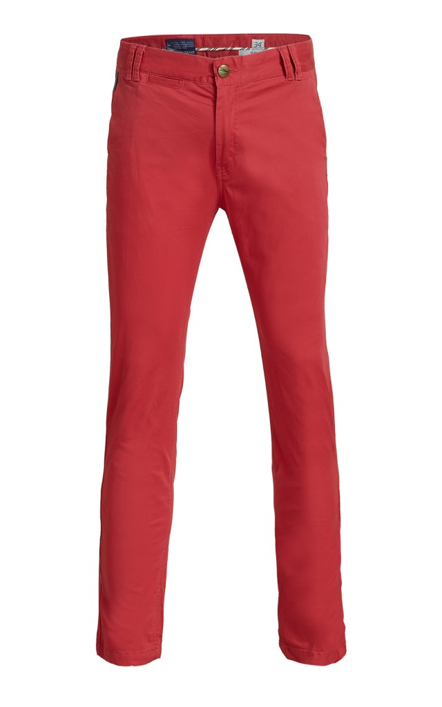 Breakbounce red chinos
