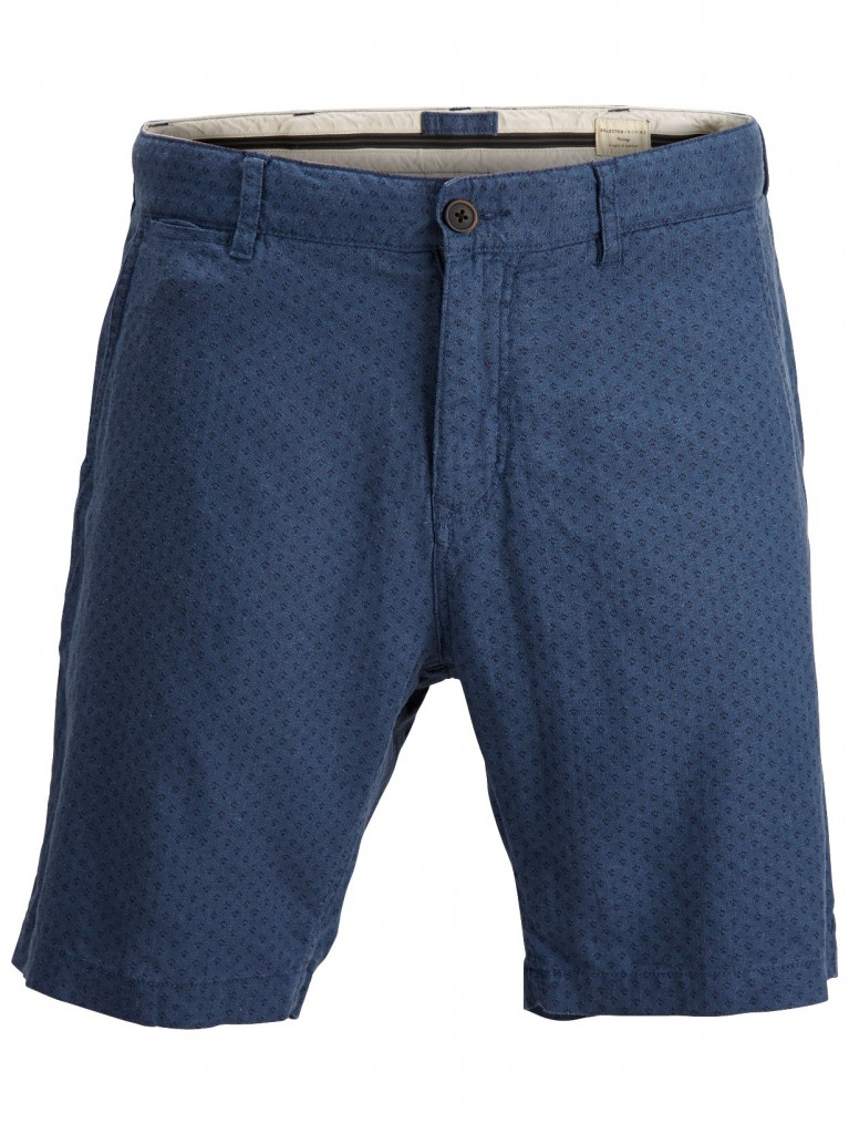 SHDott dark blue linen shorts H RS 3995