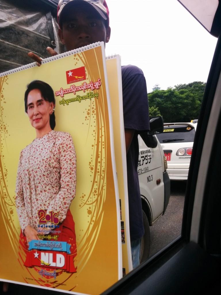 Aung San Su Kyi calendar