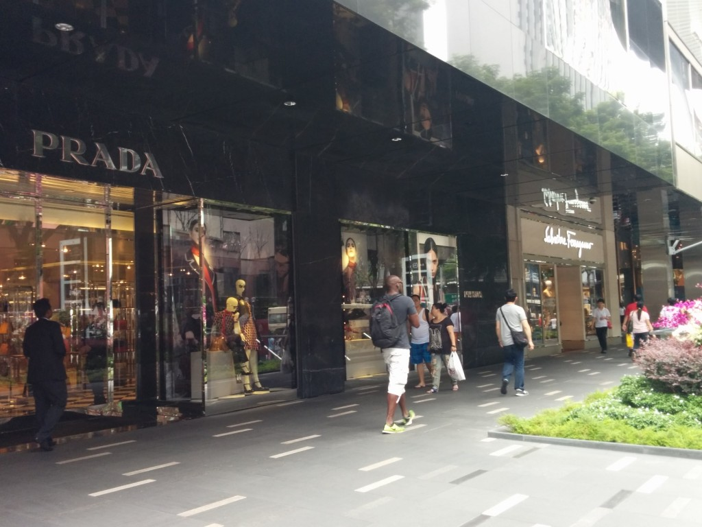 Singapore Orchard Road shopping