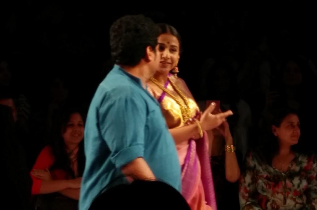 Vidya Balan Gaurang LFW SR 2015