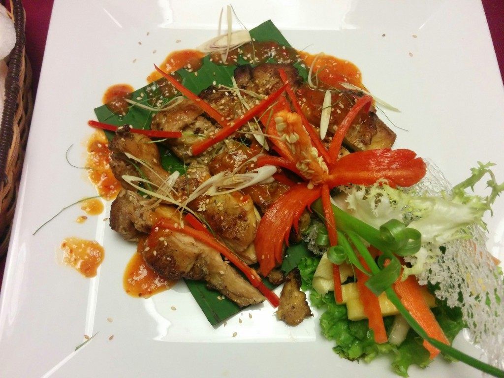 Vietnamese food Gia Ngu restaurant