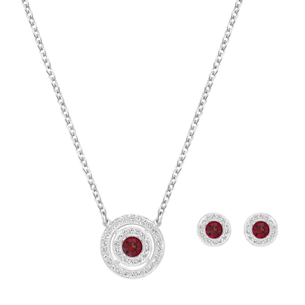 Sarovski pendant earring set