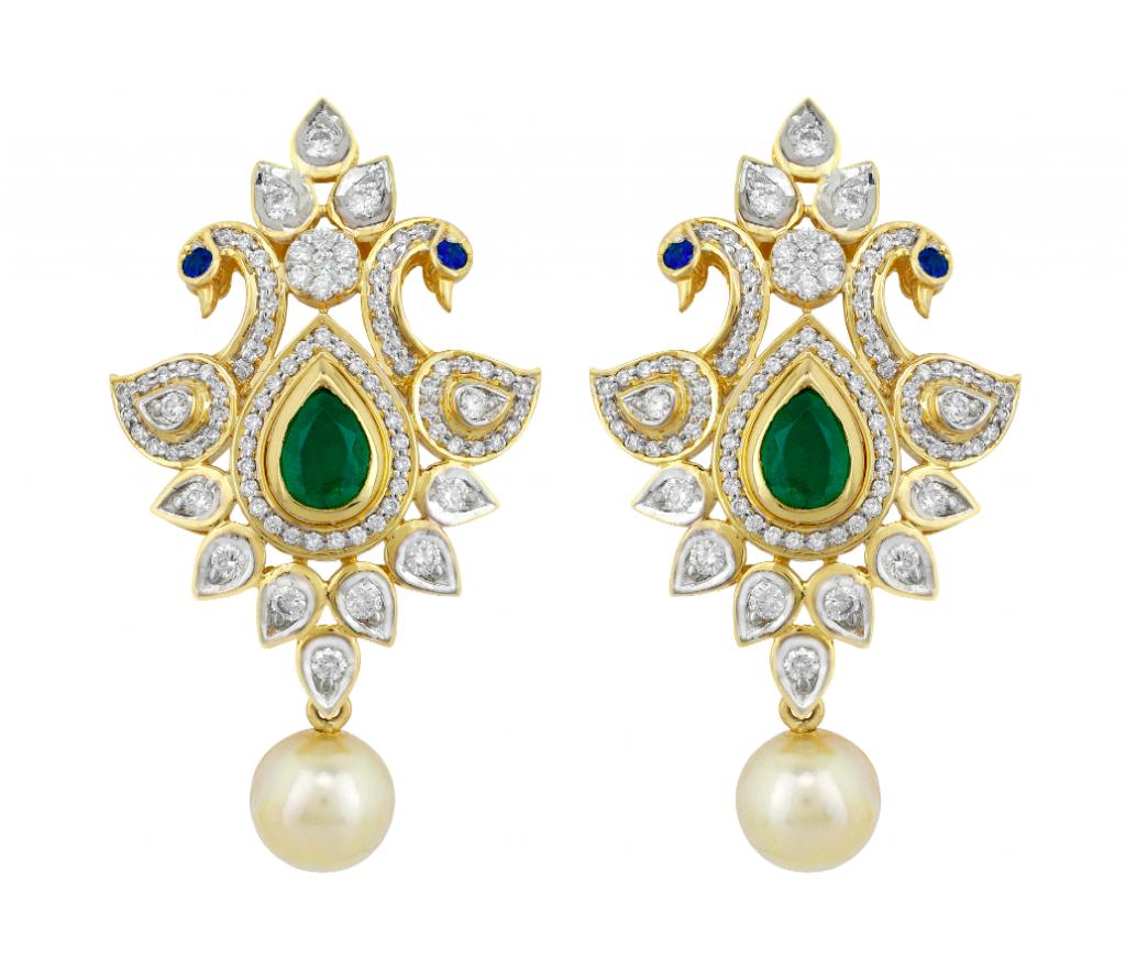 Yoube diamond earrings