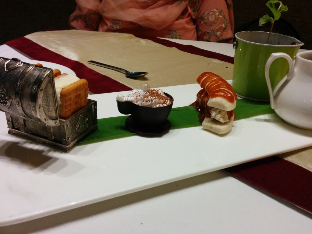 Desserts at Masala Library