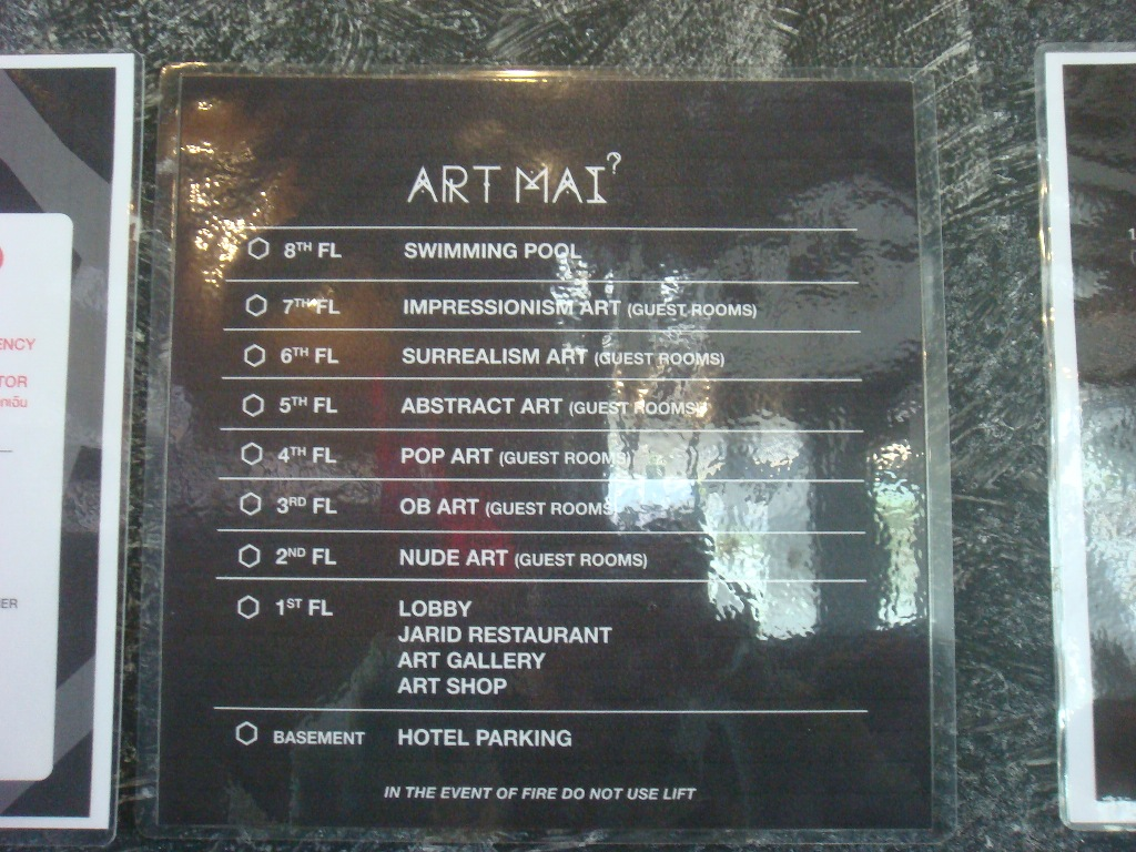Review of Art Mai Gallery Hotel art rooms
