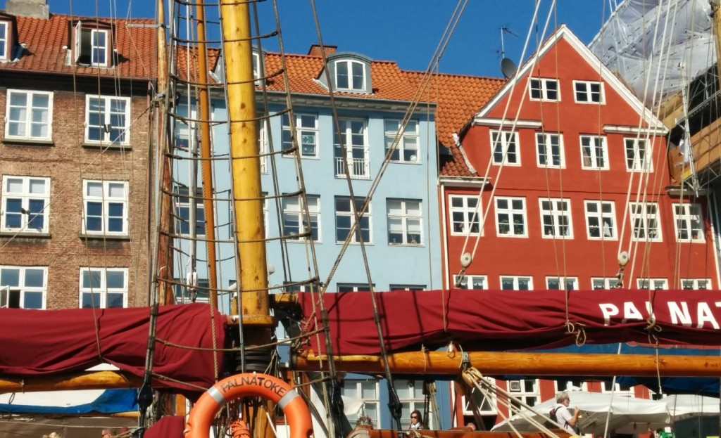 Copenhagen Denmark canal ride