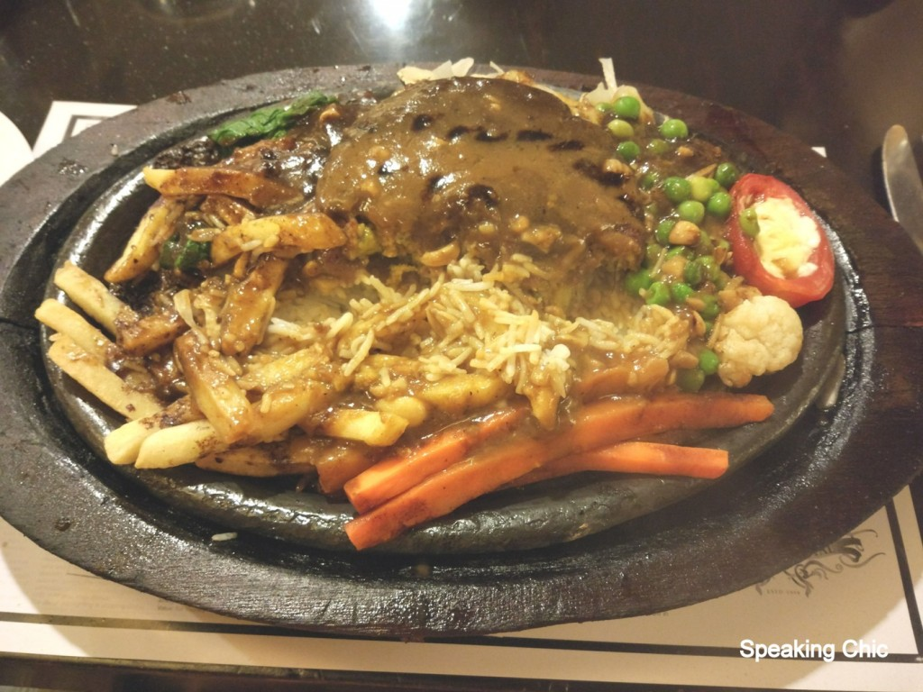 Cafe Royal Mumbai vegetarian sizzler