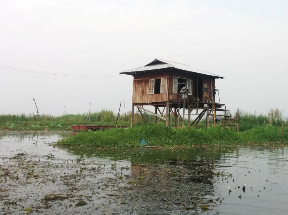 House Inle Lake Myanmar