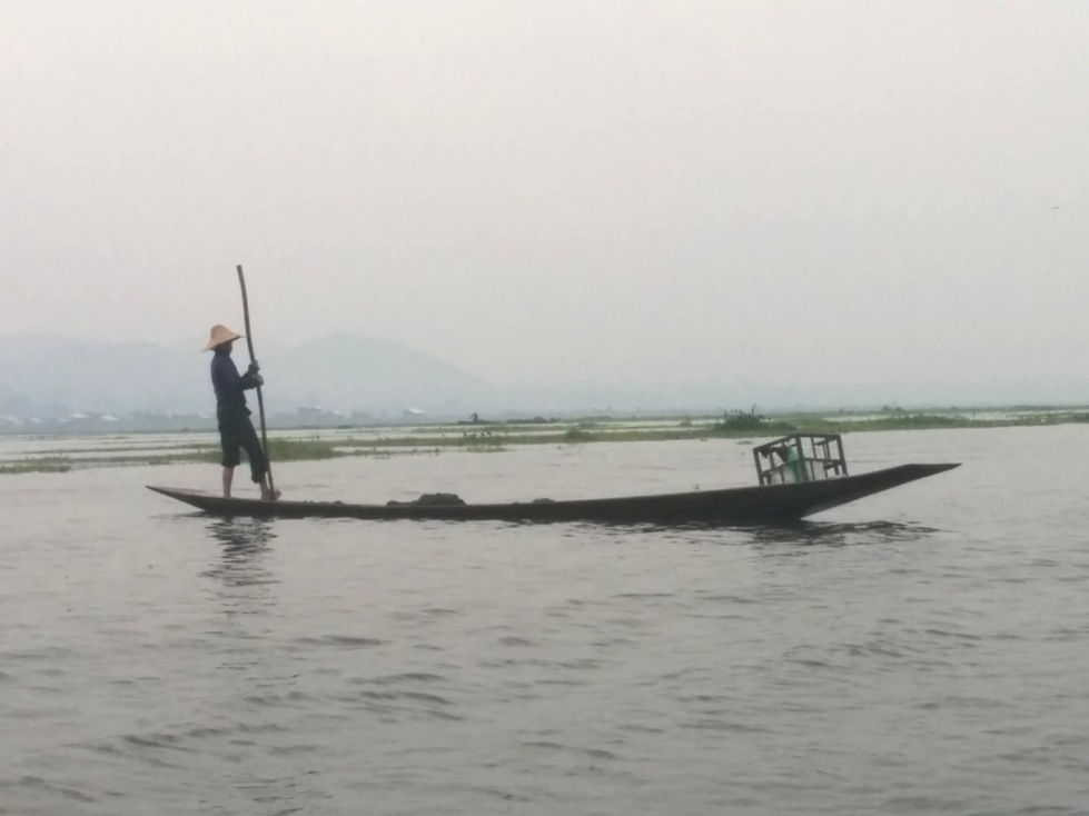 Fisherman at Inle Lake Myanmar