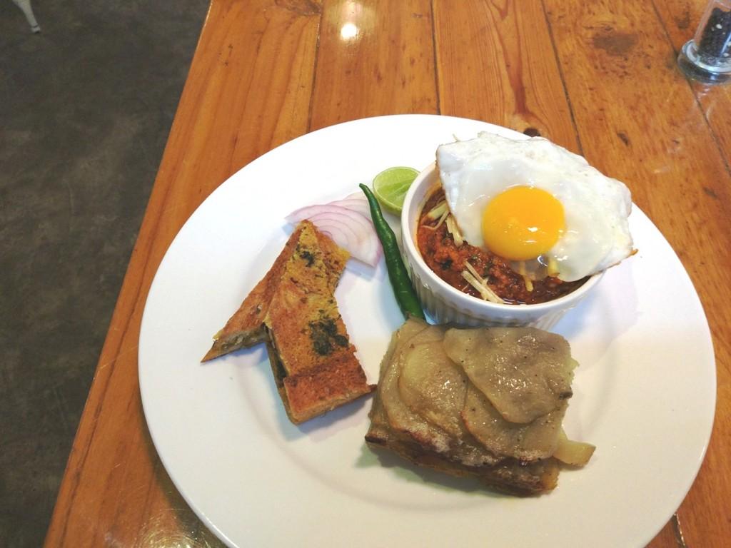 Pantry Kala Ghoda breakfast kheema