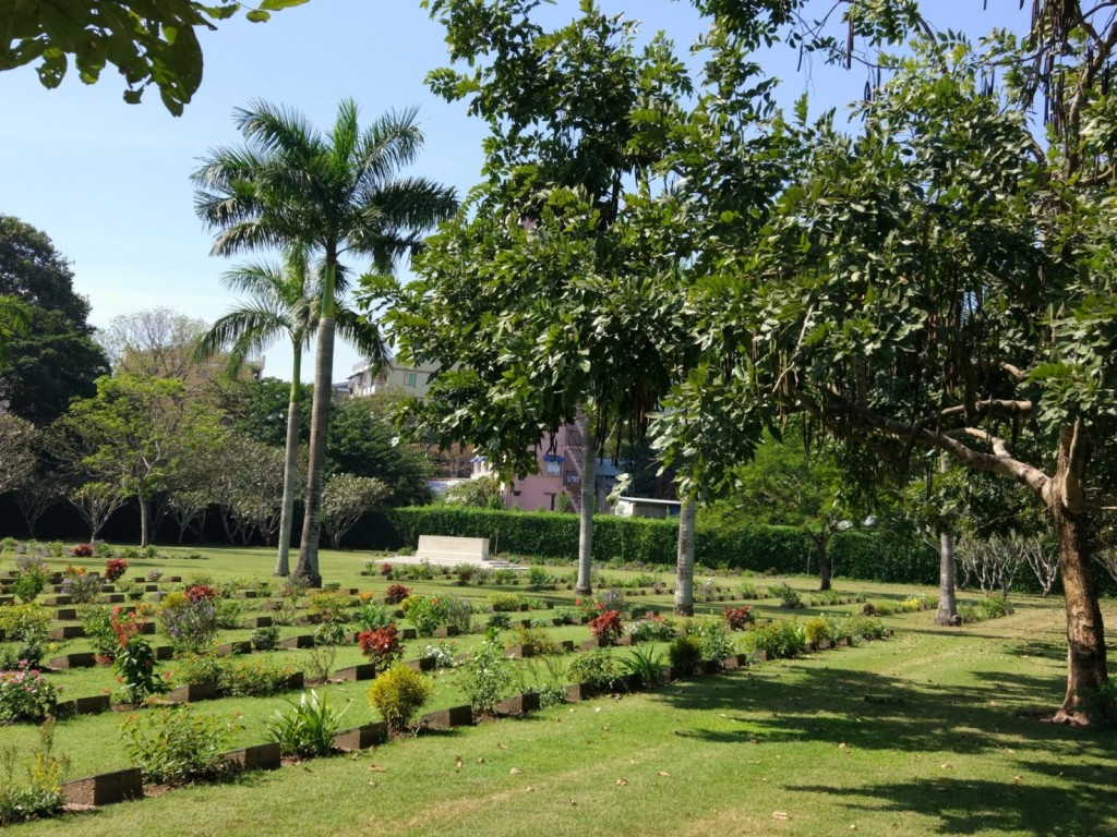 Rangoon War Cemetery Yangon