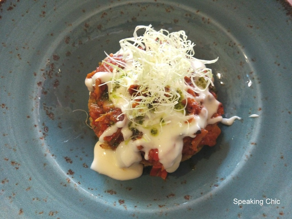 Sassy Spoon zucchini roesti